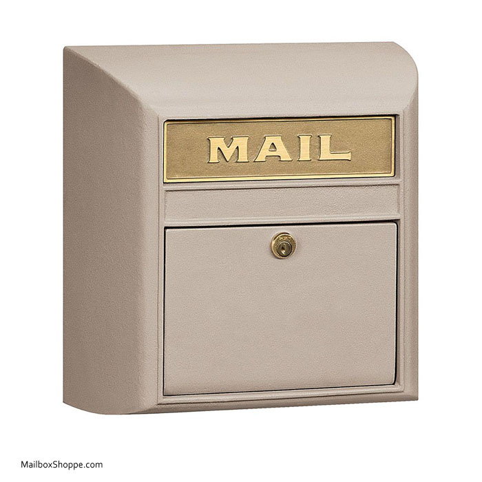 Stainless Steel Upright Mailbox