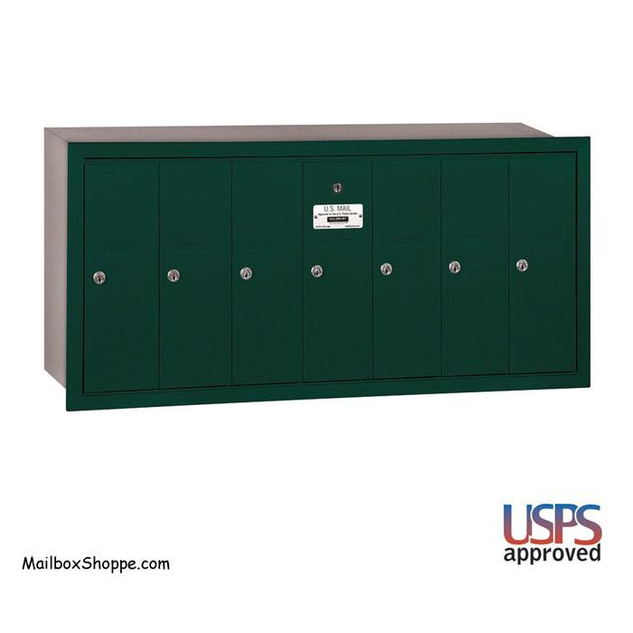 3507 7 Door Apartment Mailbox