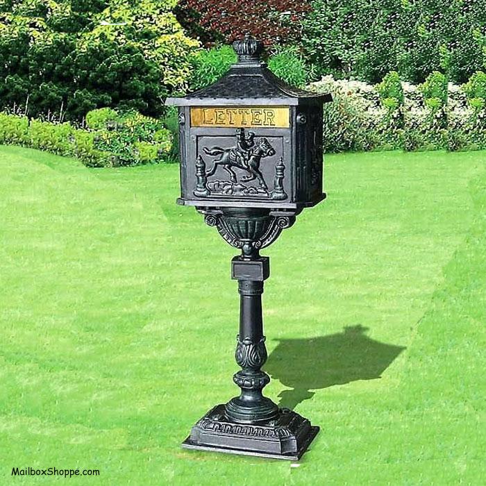 Victorian Pedestal Mailbox